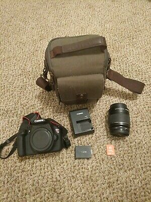 Canon EOS Rebel T5 PLUS EXTRAS!!! Lenses, WiFi SD card, bag, GREAT DEAL!!!