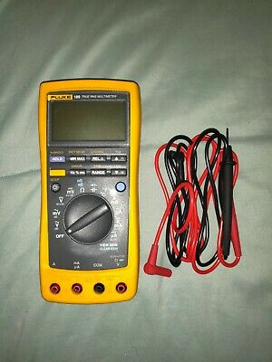 Fluke 189 TRUE RMS Digital Multimeter with Leads FULLY Tested Free Shipping