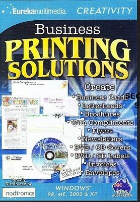 Business Printing Solutions Cd [Cr-3B]