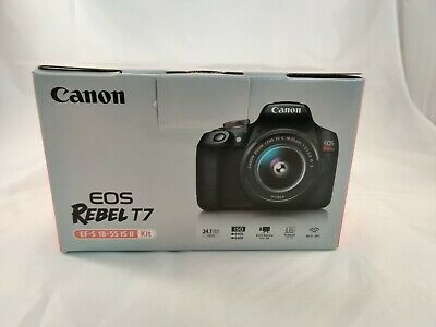 Canon Rebel T7 24.1 MP with 18-55mm AF-S Lens