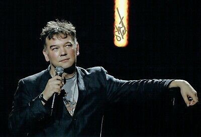 Stewart LEE SIGNED Autograph 12x8 Photo AFTAL COA Stand Up Comedy Comedian