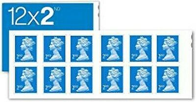 12 x BRAND NEW 2ND Second Class 2019 Postage Stamps TRUSTED SELLER 67