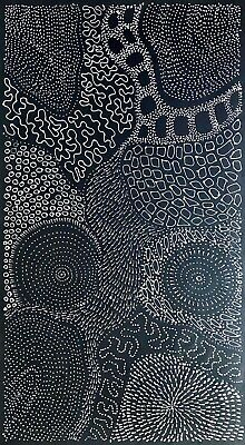 Freda Price Pitjara, Authentic Aboriginal art .Daughter of Anna Price Petyarre.