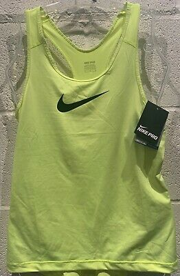 Nike Pro Womens Np Cool Tank Top Dri-Fit Vest Running Fitness Gym Sports Bnwt Xl