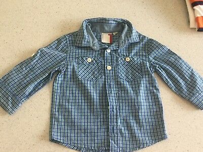 Cotton On Boys Long Sleeve Shirt Size 1