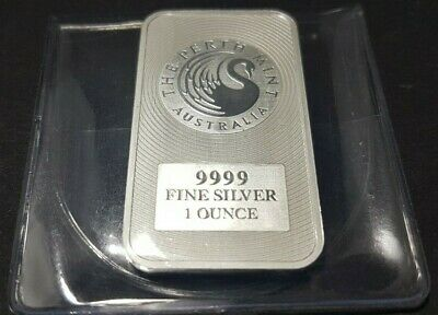 1 Oz Kangaroo Silver Bullion Bar | Perth Mint