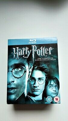 Harry potter blu ray box set 1-8