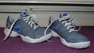 Nike City Court Grey Blue Shoes Trainers , Uk 3