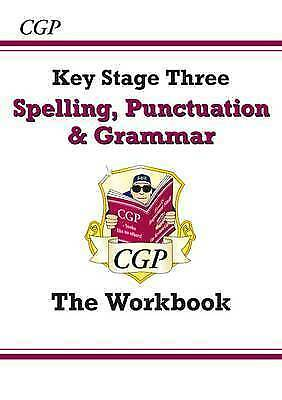Spelling, Punctuation and Grammar for KS3 - Workbook by CGP Books (Paperback,...
