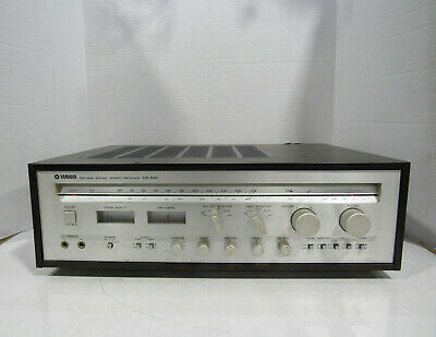 Vintage Yamaha CR-840 Natural Sound AM/FM Stereo Receiver Tested and Working
