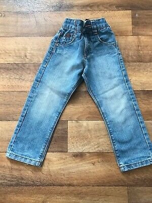 Boys Blue Faded jeans from next. Aged 3 years.