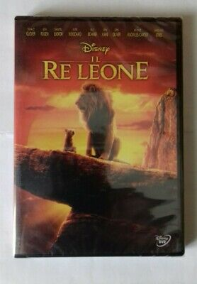"Dvd ""Il Re Leone"" (Live Action) (2019) Dvd Nuovo E Sigillato !!!"