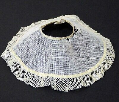 Vintage 1950's Early Vogue Ginny Doll Gauze and Net Trim Slip / Petticoat