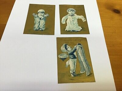 Acme Soap Victorian Trade Cards