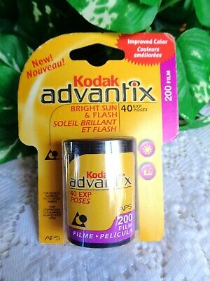 Kodak Advantix 200 Color Print Film  ~ 40 Exposures