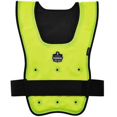 Ergodyne Chill-Its 6687 Economy Dry Evaporative Cooling Vest - Lime