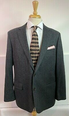 Brooks Brothers Gray wool cashmere Two Button Sport Coat Size 44R Fitzgerald cut