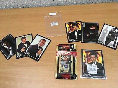James Bond 007 Playing Cards Postcards Bundle Lot New