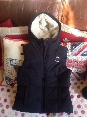 Hollister  Body Warmer Xs Blue Really Warm