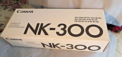 Canon NK-300 Portable Kit with NiMH Battery Pack NB-300 for BJC-70/BJ-30