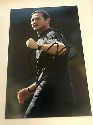 CHELSEA FRANK LAMPARD 6X4 photo SIGNED AUTOGRAPHED
