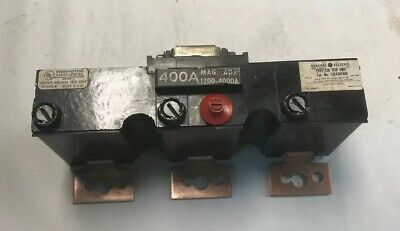 General Electric TJK436T400 Trip Unit 400Amp 600V