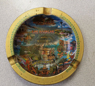 Los Angeles Hollywood California Souvenir Ashtray