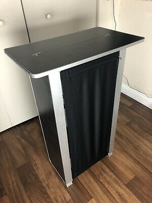 NEW Portable Display Tradeshow Podium Custom Modular Skyline Occasions Table