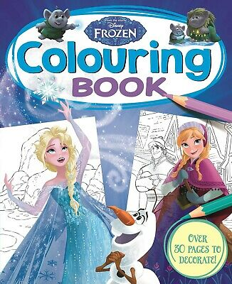 Disney's Frozen Classic Colouring Book Kids Books Children's Gift Paperback 2020