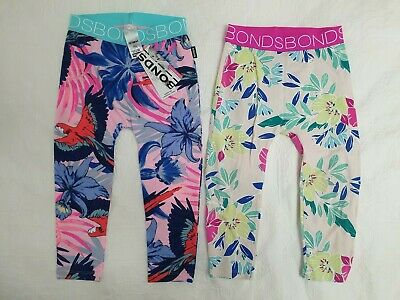X2! New with tags BONDS leggings, Size 2