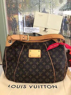 ❤ Louis Vuitton Galliera PM Receipt & Dust Bag❤ Monogram Auth LV Shoulder Hobo