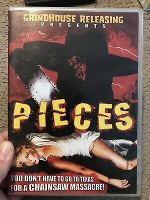 Pieces Horror Dvd Grindhouse Gore Texas Chainsaw