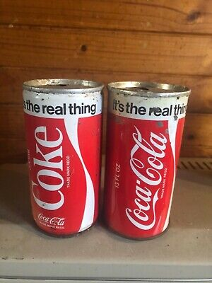 2 things go better with coke steel cans