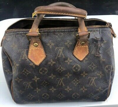 Louis Vuitton Authentic Women's Bag Speedy Signature Lv Handbag