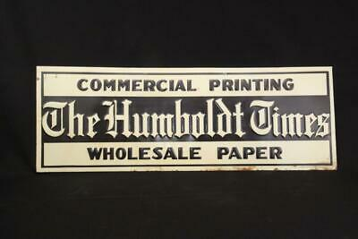 The Humbolt Times Advertising Sign