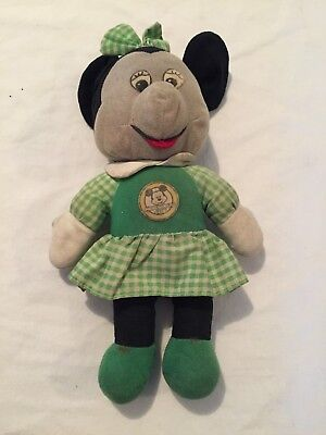 VINTAGE 1976 Walt Disney Knickerbocker MINNIE MOUSE Rare Plush Toy Doll