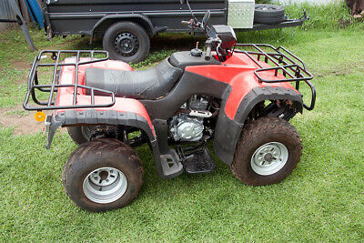Refurbished used quad bike