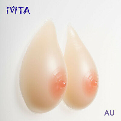 A Cup Artificial Silicone Breastforms CD TG Fake Breasts Enhancers