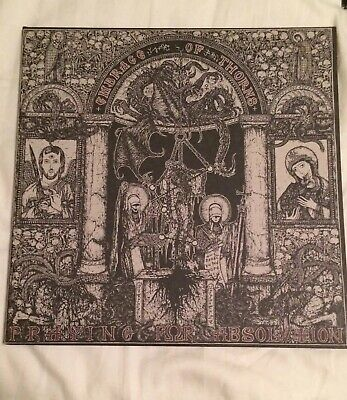 embrace of thorns praying for absolution - 2012 DLP Grey vinyl NWN