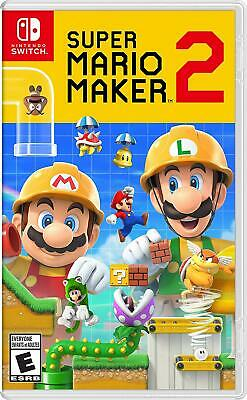 Super Mario Maker 2 - Standard Edition Nintendo Switch New Factory Sealed