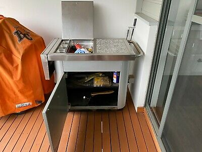 BBQ mate extend table + storage + ice holder + bottle opener Rouse Hill