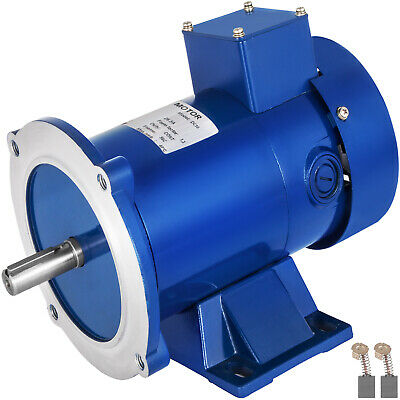 DC MOTOR 3//4HP 56C Frame 180V//1750RPM TEFC MAGNET Permanent Dominate Generally