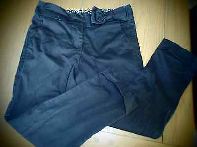 Girls black trousers from Next age 6 years