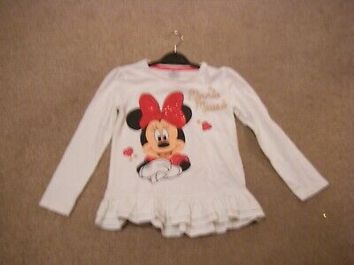 Girls Ivory Long Sleeved Top Age 6-7 Years from Tesco