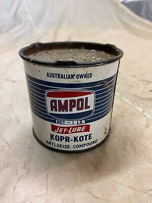Ampol 1 Pound Rare, Jet Lube Grease Tin