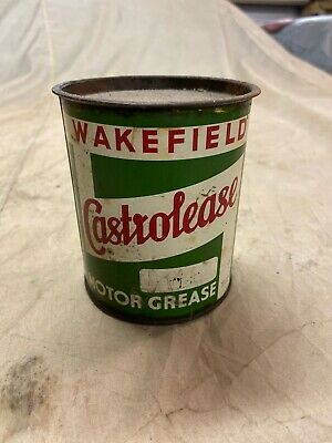 Vintage Castrol 1Lb Grease Tin