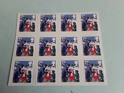 12 x 2nd Class  Christmas  stamps PRISTINE Self Adhesive strong glue  mint no