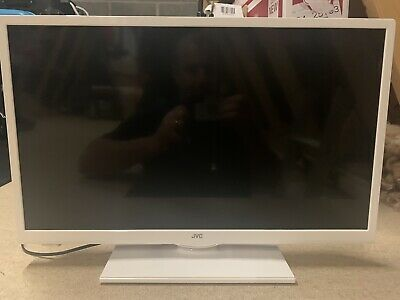 "JVC 24"" White Smart HD TV With Built In WiFi. In Box LT-24C661."