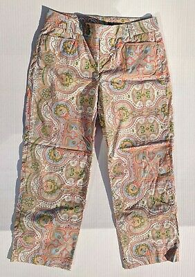 Tommy Hilfiger Size 32 x 26 Multicolor Patterned Pants Size10