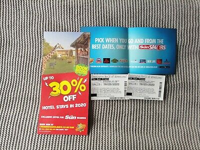 Chessington world of adventures tickets x2